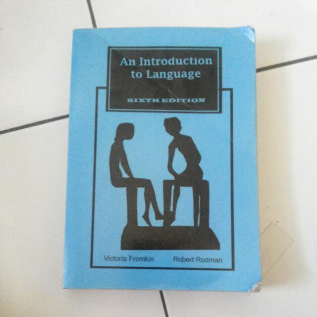 An Introduction To Language Sixth Edition