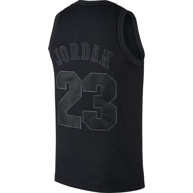 more photos 396c6 84301 Authentic Air Jordan Space Jam 11 Tune Squad Jersey Black ...