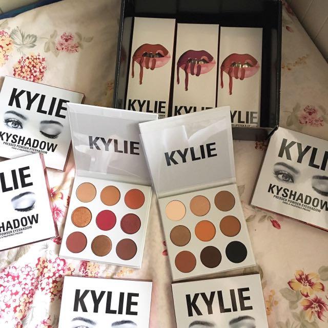 Authentic Kylie Lip Kit(s) | Kyshadow Bronze Palette