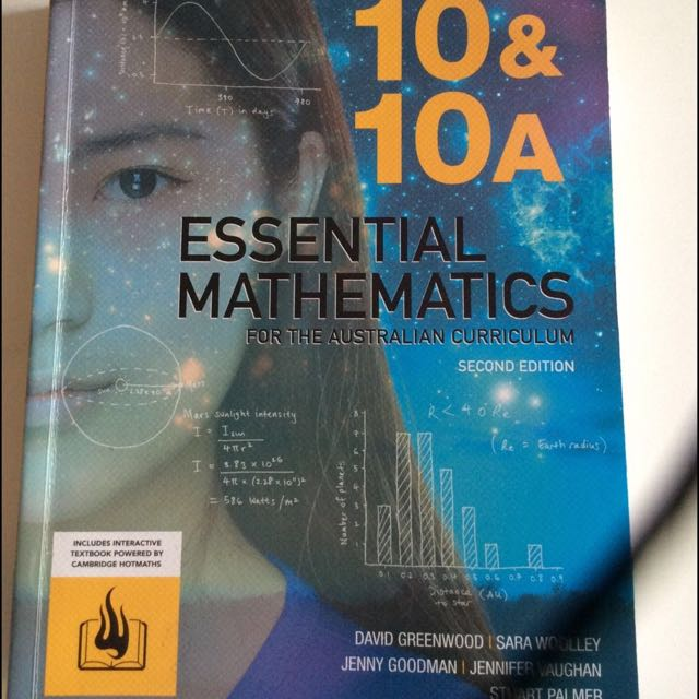 Cambridge Essential Maths 10