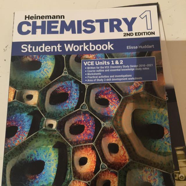 Chemistry 1&2 Student Workbook