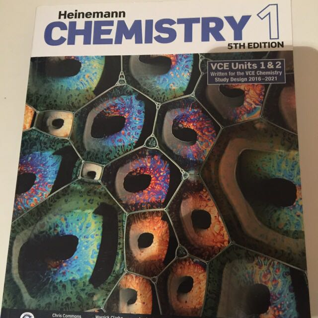 Chemistry 1&2 Text Book Year 11 Brand New