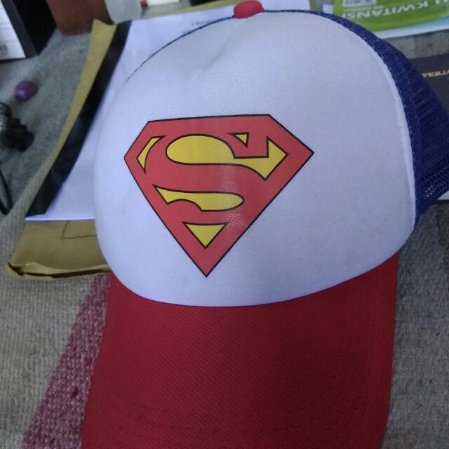 Classic Cap Topi Superman