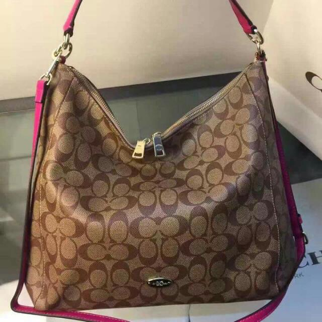 Coach Signature Large Hobo