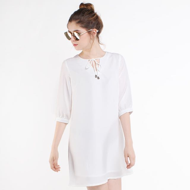 [NEW] Cotton Ink Alena Bohemian Dress
