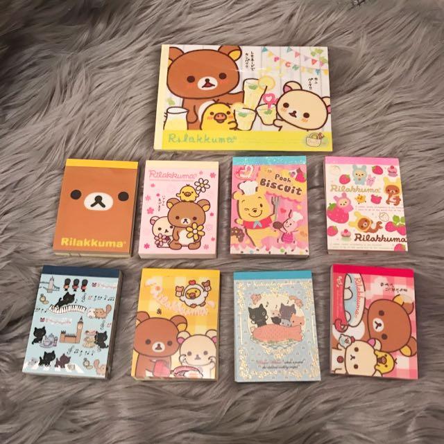 Cute Memo pads/Note pads