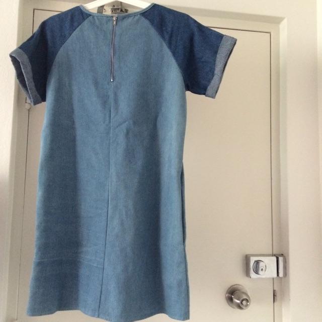 Denim Dress size 6-8