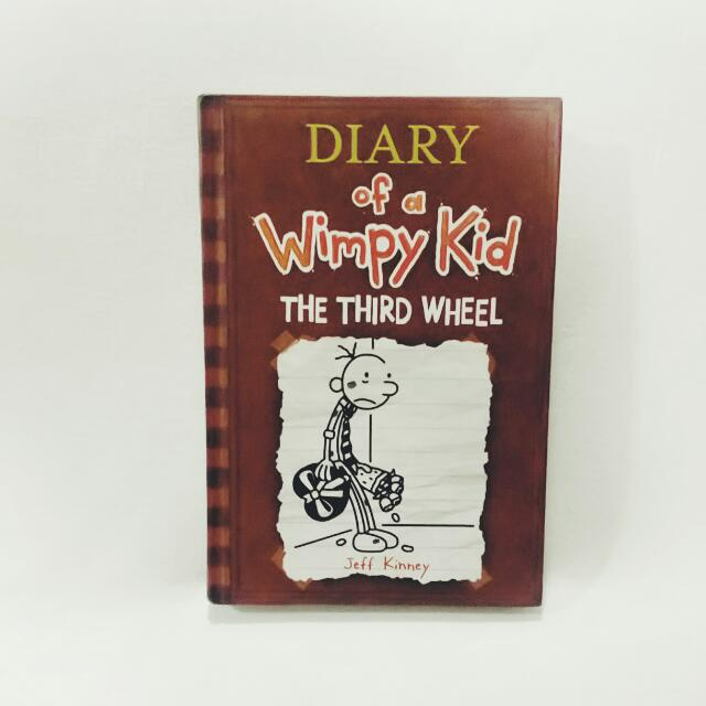 Diary of a Wimpy Kid: Third Wheel by Jeff Kinney