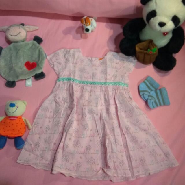 Dress Bayi Pink