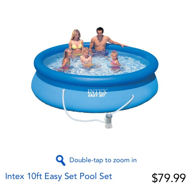 Easy set Pool With Pump