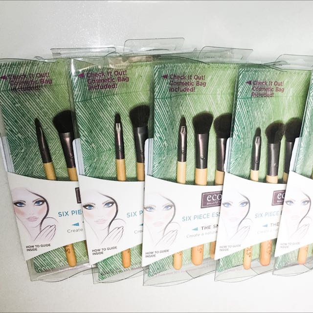 EcoTools Bamboo 5 Piece Eye Brush Set - 1 set	 EcoTools Bamboo 5 Piece Eye Brush Set 眼影刷具組(現貨)含運費