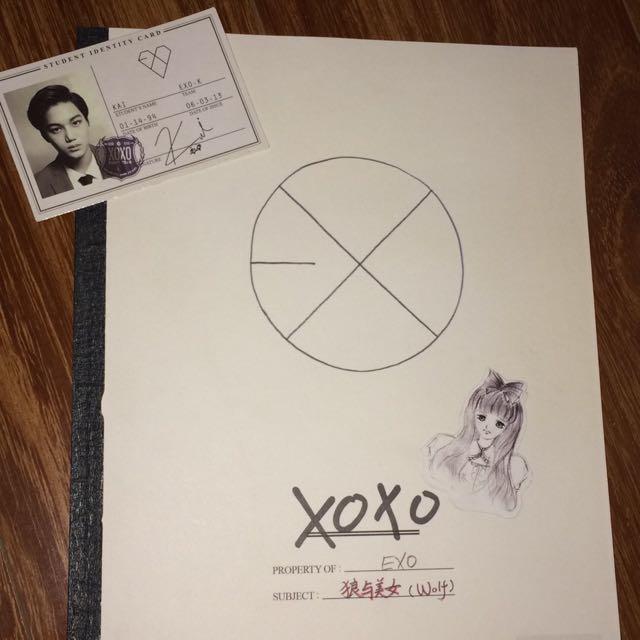 EXO WOLF ALBUM XOXO (Chinese ver)