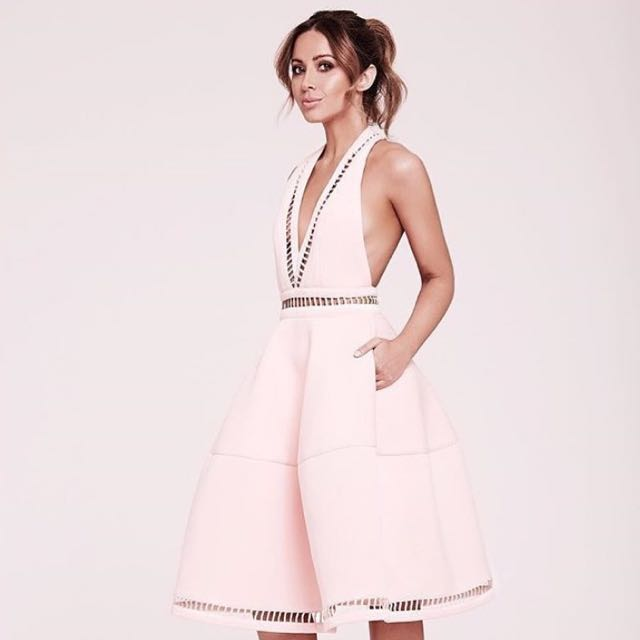 FOR HIRE! Asilio the label Jasmine dress in soft sorbet