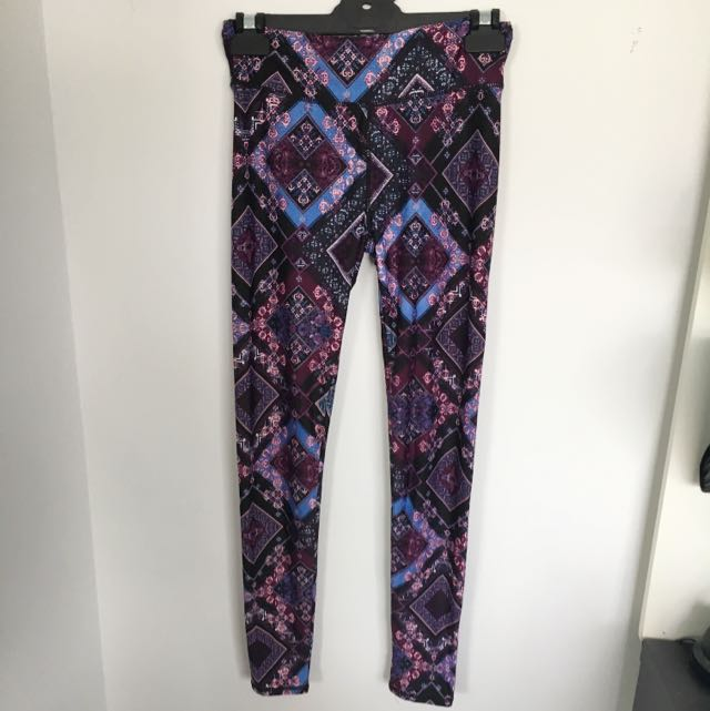 Full Length Printed Active Pants
