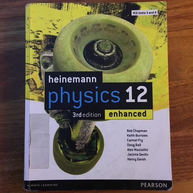 Heinemann Physics 12 Textbook