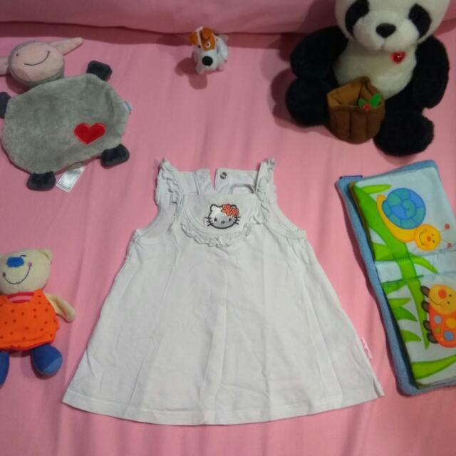 Hello Kitty White Baby Dress