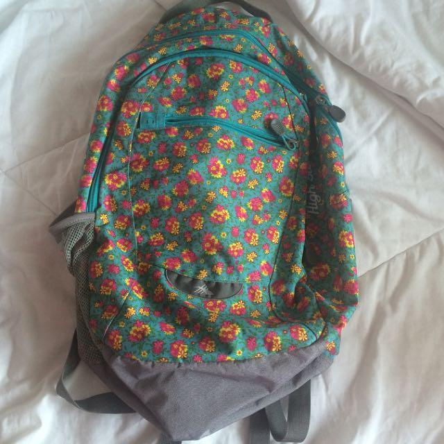 High Sierra Floral Bag