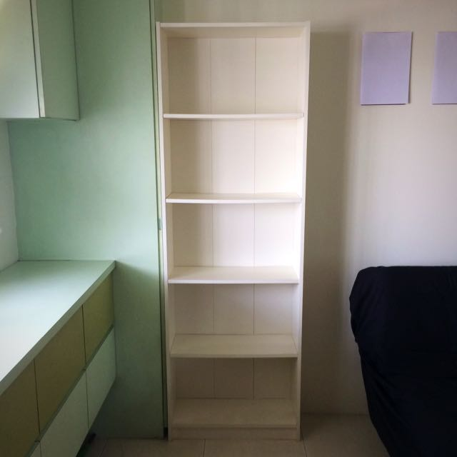 sports shoes 7978a 4e0e3 IKEA Gersby Bookcase (white), Furniture, Others on Carousell