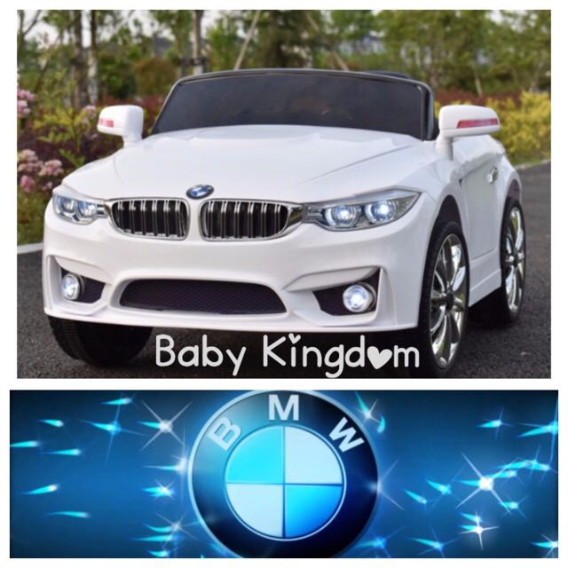 Bmw Electric Car For Children Toddler Kid Baby Infant Battery Operated Motorcar Kiddie Ride Present Phone Controller Living Mummy
