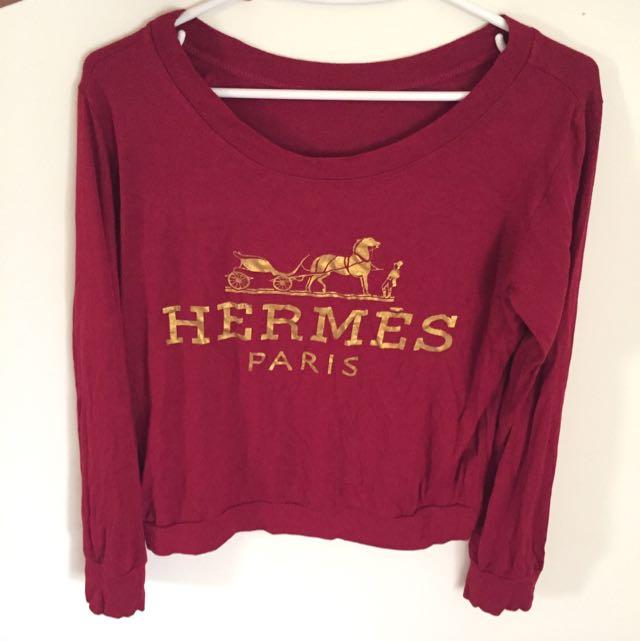 Kaos Brand Hermes Parody