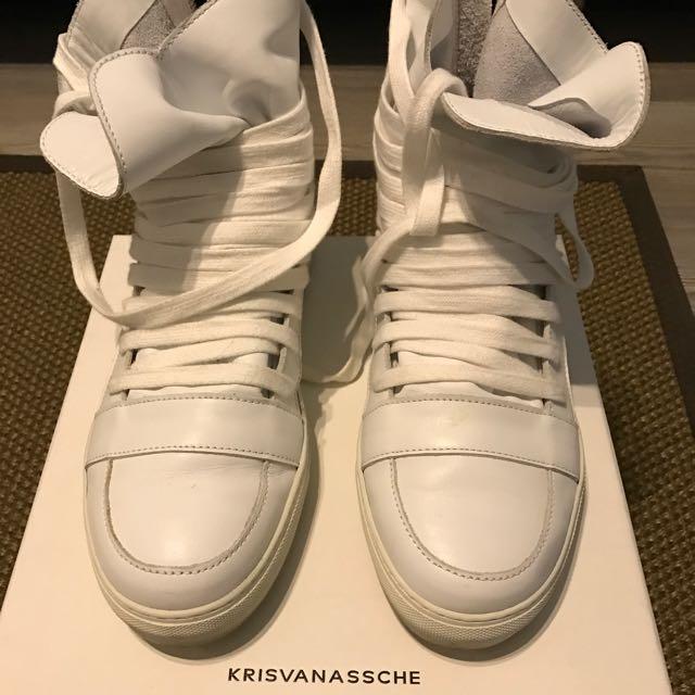 Krisvanassche Multi Lace Sneaker 8c1b0c824