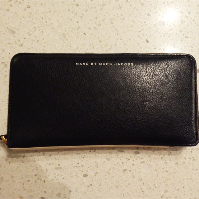 Marc By Marc Jacobs - Two Tone Zip Wallet