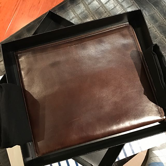(Melbourne)Authentic Paul Smith Box Calf Leather Cluth $75
