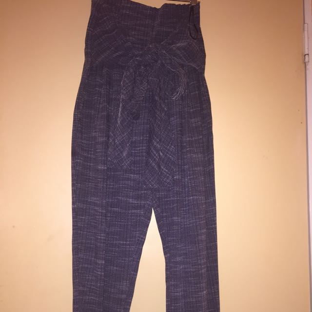 Melrose Avenues Long Pants With Bow
