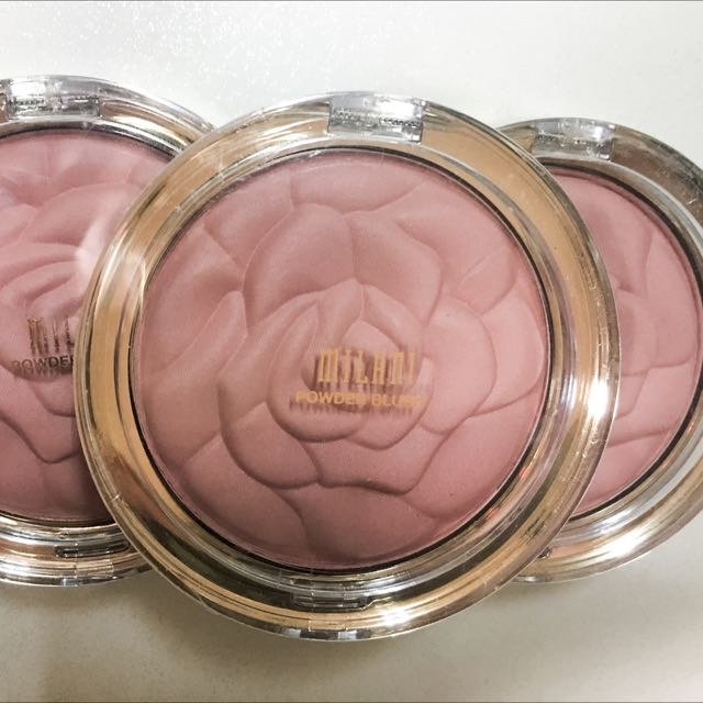 Milani Rose Powder Blush, Romantic Rose 6 oz 玫瑰腮紅(現貨)含運費