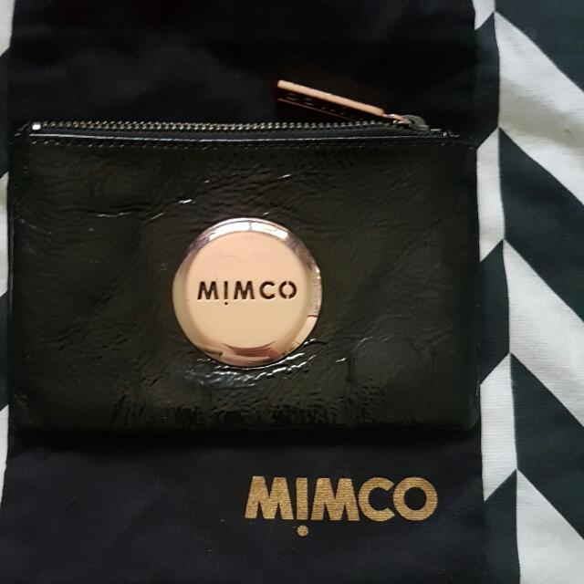 PRICE INCLUDES POSTAGE Mimco Mim Pouch - Black