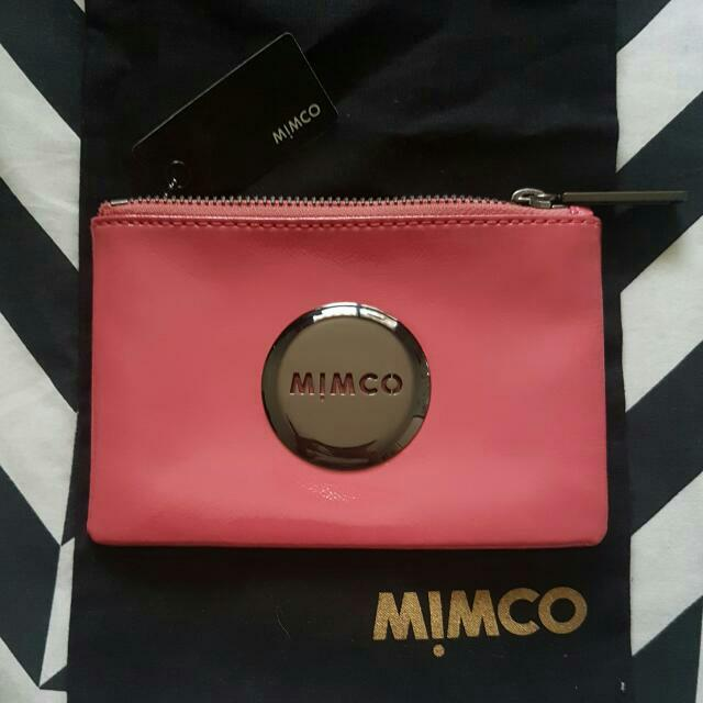 PRICE INCLUDES POSTAGE Mimco Mim Pouch - Hydrangea