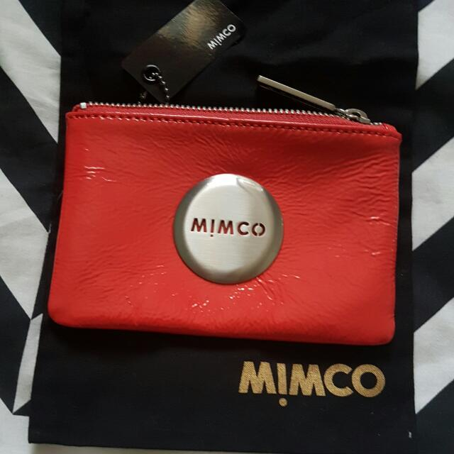 PRICE INCLUDES POSTAGE Mimco Mim Pouch - Poppy