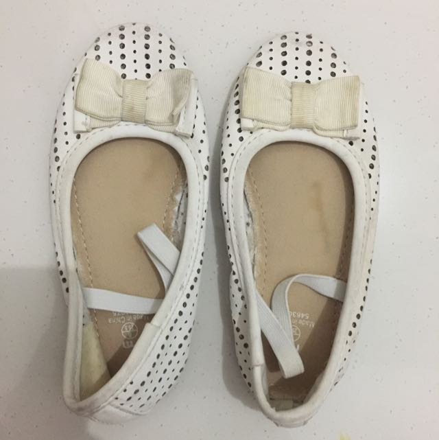 Mothercare White Shoes