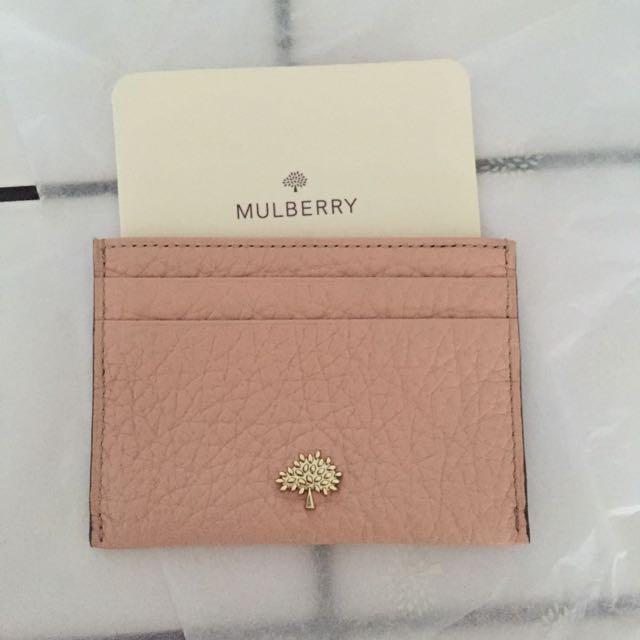 764547115e60 Mulberry Credit Card Slip