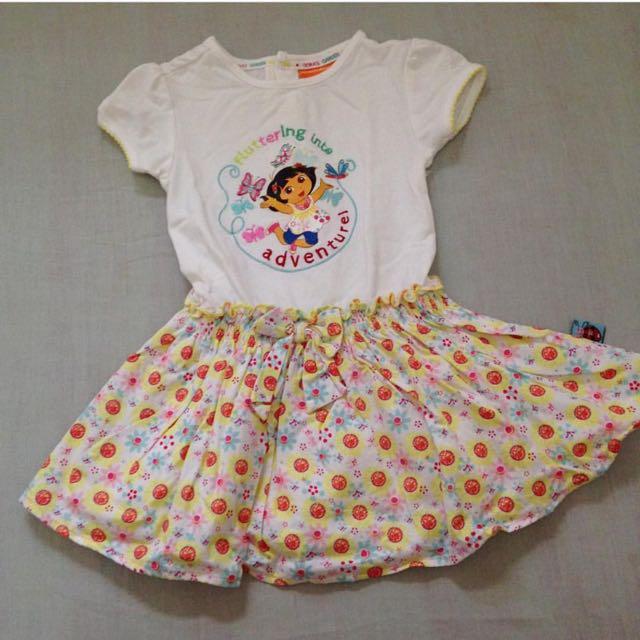 Nickeledeon Dora Dress