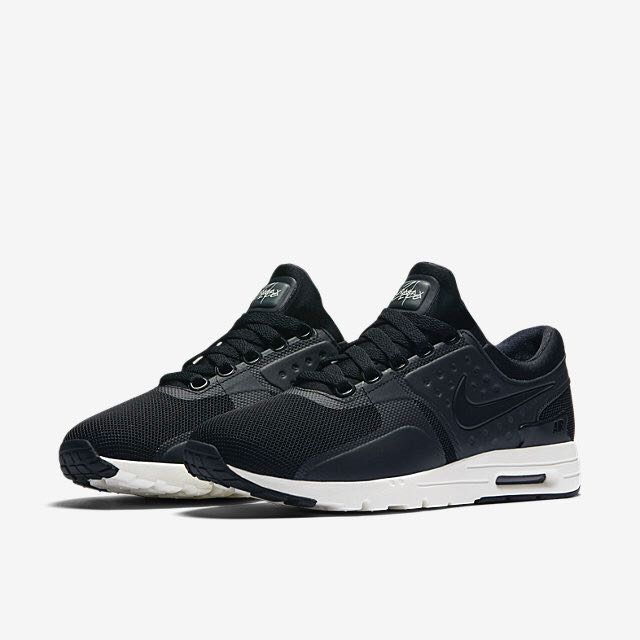 sale retailer 3bde8 926db Nike Air Max Zero (Women) - Black Sail Black, Women s Fashion, Shoes ...