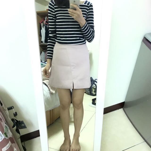 Pazzo 淡粉紅色短裙