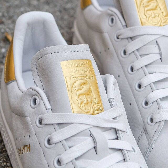 hot sale online 0a308 e0571 🔥 Authentic Adidas Stan Smith 24K Gold