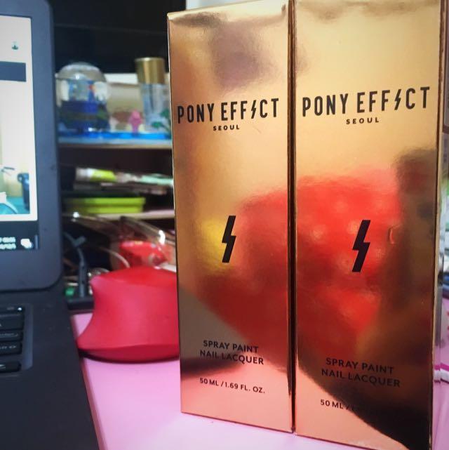 Pony Effect太空彩指噴霧