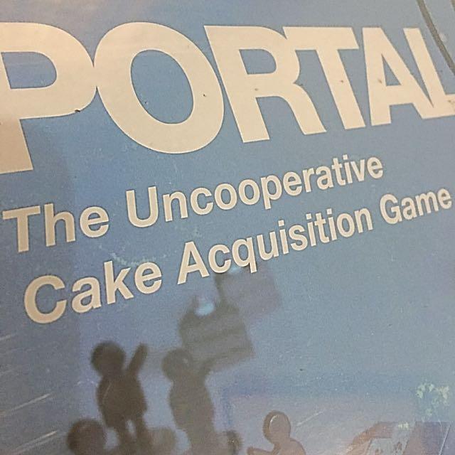 Portal - The Uncooperative Cake Acquisition Game