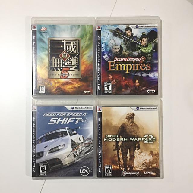 PS3 遊戲 4 片