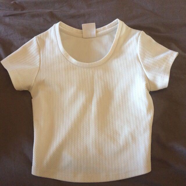 Size 8 White Top
