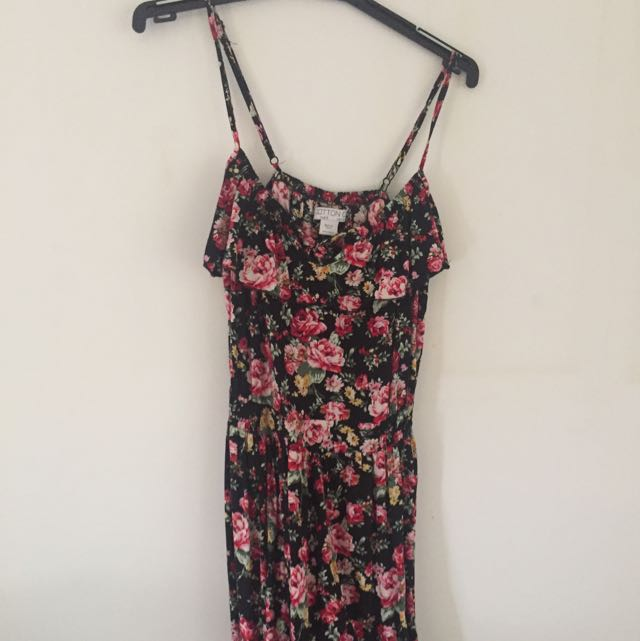 Size/ S Floral Cotton On Dress