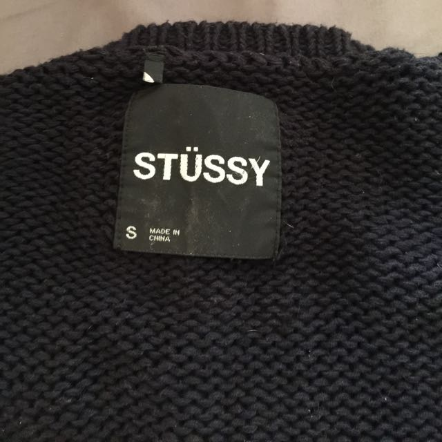 Stussy Long Line Knit
