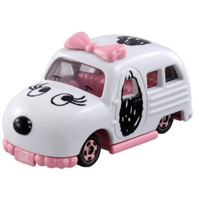 (全新現貨)TOMICA Dream夢幻系列 史努比 Snoopy Sister Belle 多美小汽車