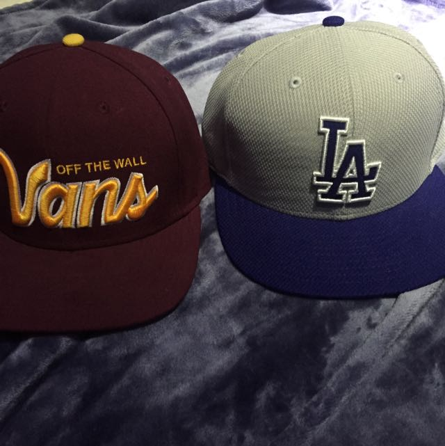 Vans And LA Straight Rims Hat