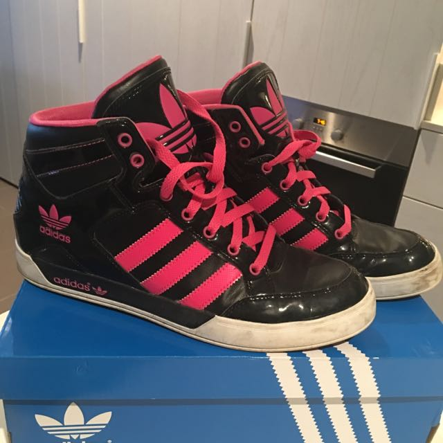 Women's Addidas High Top Sneakers