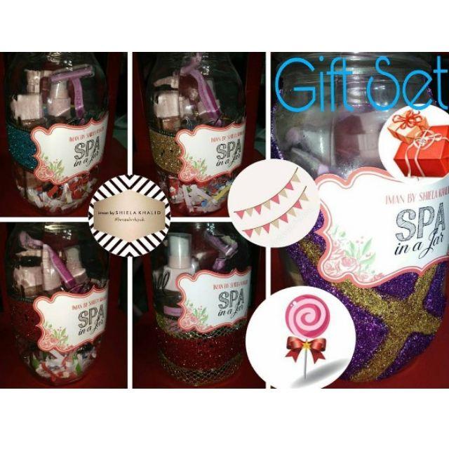 Xmas Gift Ideas Spa In A Jar Health Beauty Bath Body On Carousell