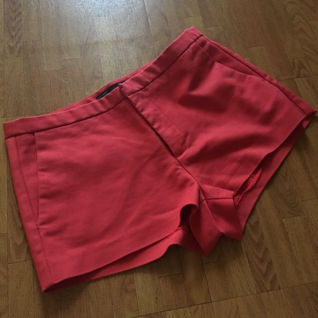 Zara Coral Red Short