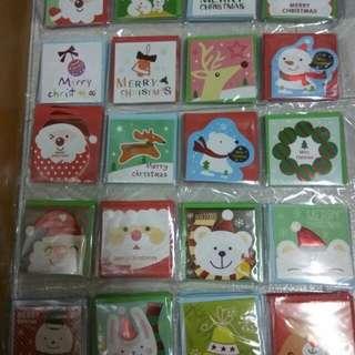 聖誕卡(迷你)$2買5送1